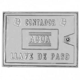 TAPA CONTADOR ALUMINIO 300X400