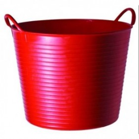 CUBO 14L. FLEXIBLE ROJO SP14R
