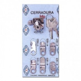 KIT CERRADURA  N-1 CROMO...