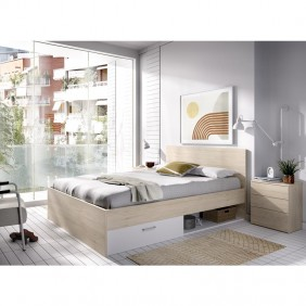Cama Serie ELY Natural...