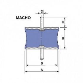 DINAFLEX DIABOLO MACHO R8 M-10
