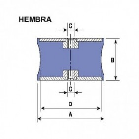 DINAFLEX DIABOLO HEMBRA R8...